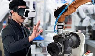 VR職場見学・採用活動